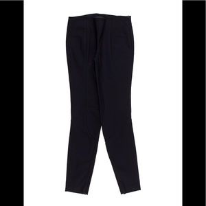 Navy The Row mid-rise skinny pants XS